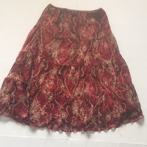 Other - Cute 3 tier multi color girls skirt
